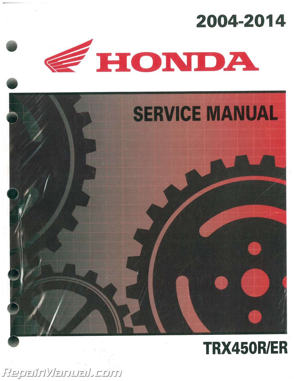 2004 2014 Honda Trx450r Er Sportrax Atv Service Manual 300ex Engine Camshaft Diagram