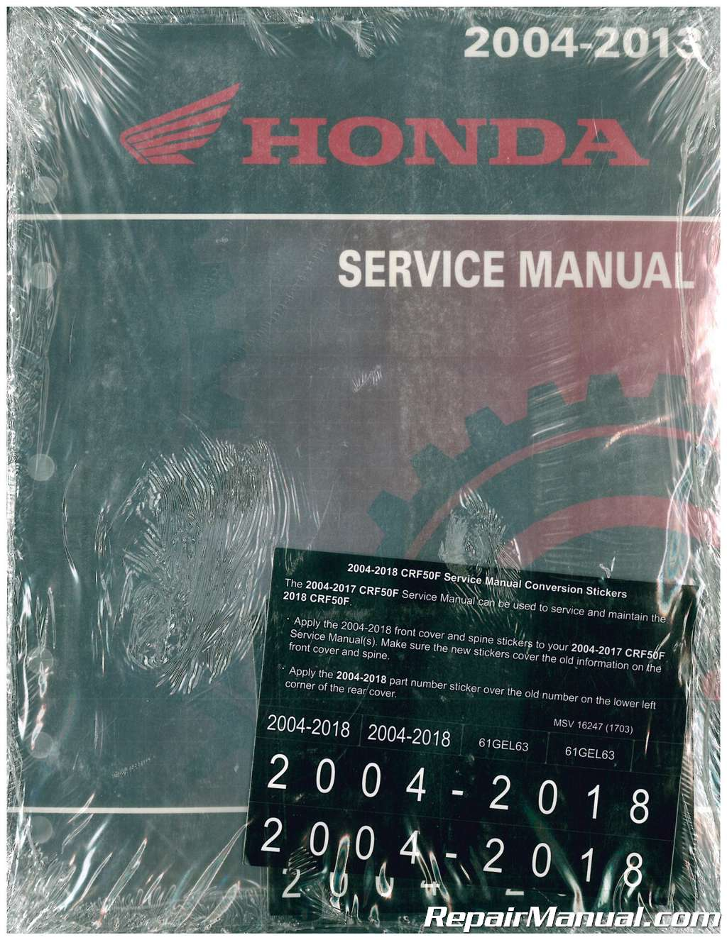 honda motorcycle service manual pdf