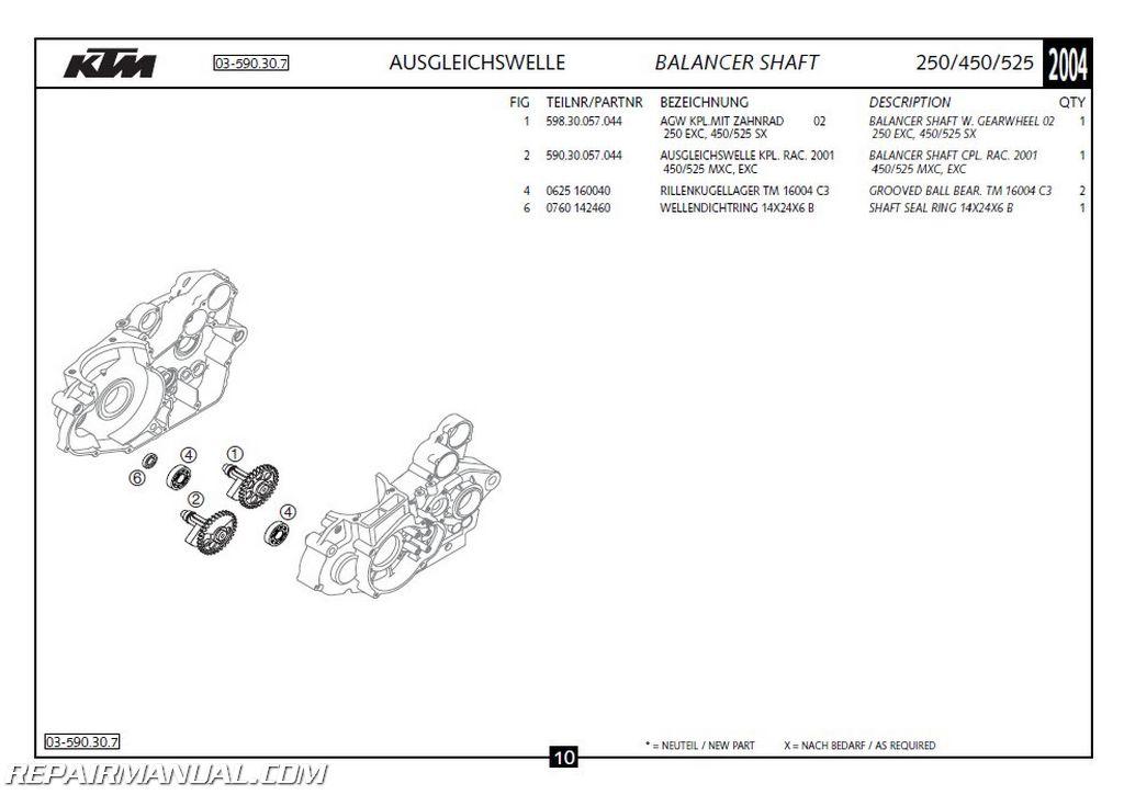 Ktm 300 Parts Manual | Displanet.net