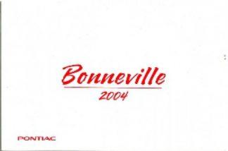 2004 Pontiac Bonneville Owner