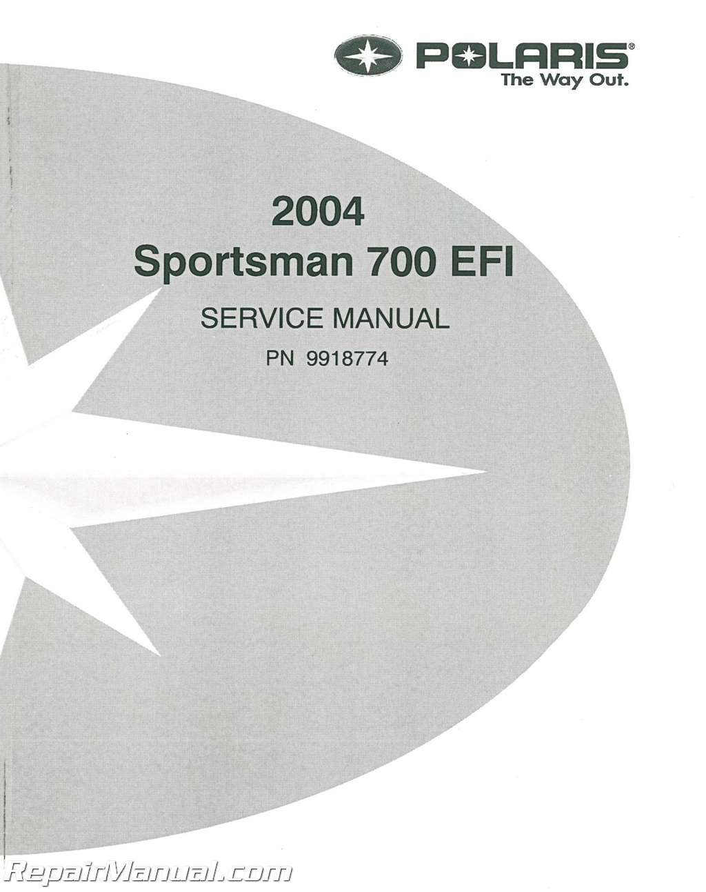 2004 Polaris Sportsman 700 Efi Twin Atv Service Manual