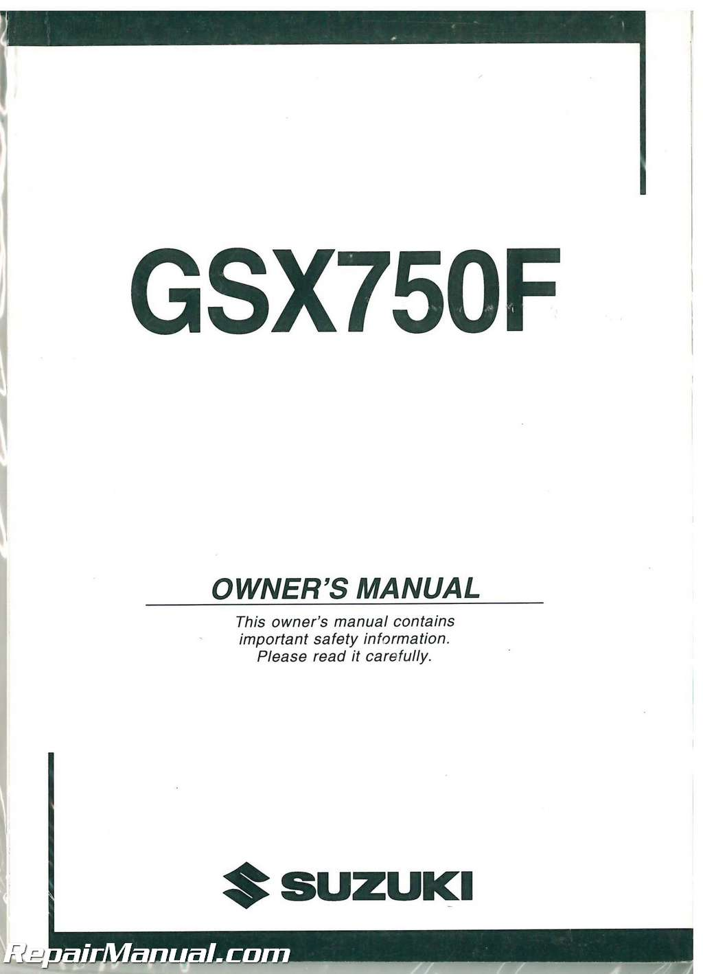 Suzuki Gsx750f Manual Free