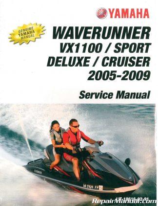 2011 Yamaha WaveRunner VXR And VXS Owners Manual