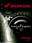 2005-2014 Honda TRX250TE TM Recon Service Manual