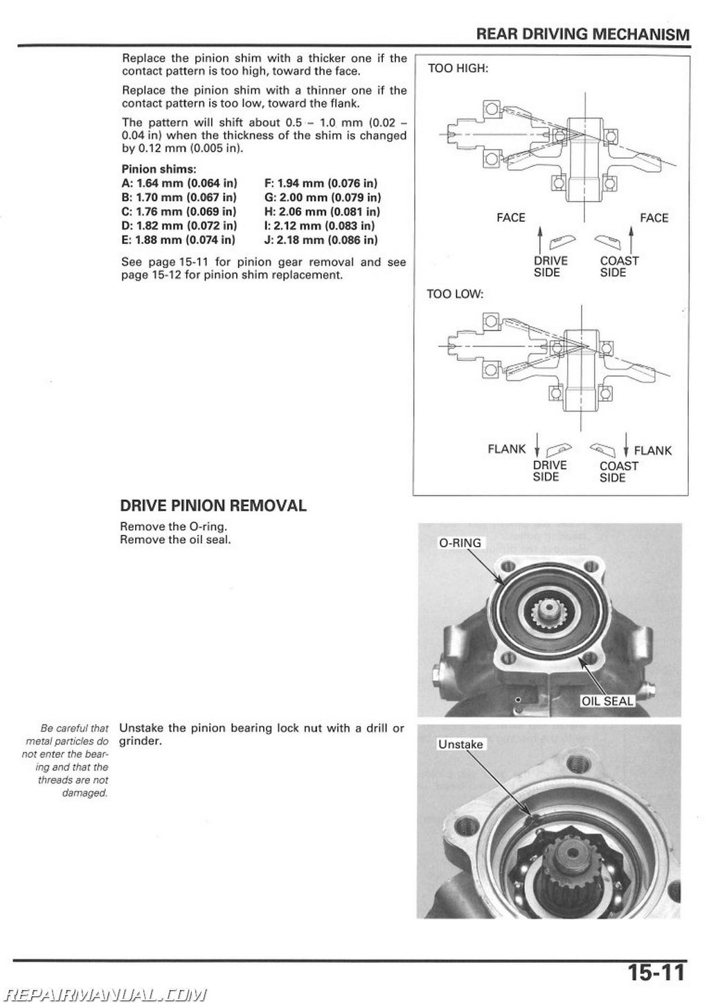 Wiring Diagram For Honda Recon Atv Simple 01 Foreman 2005 2018 Trx250te Tm Service Manual 250