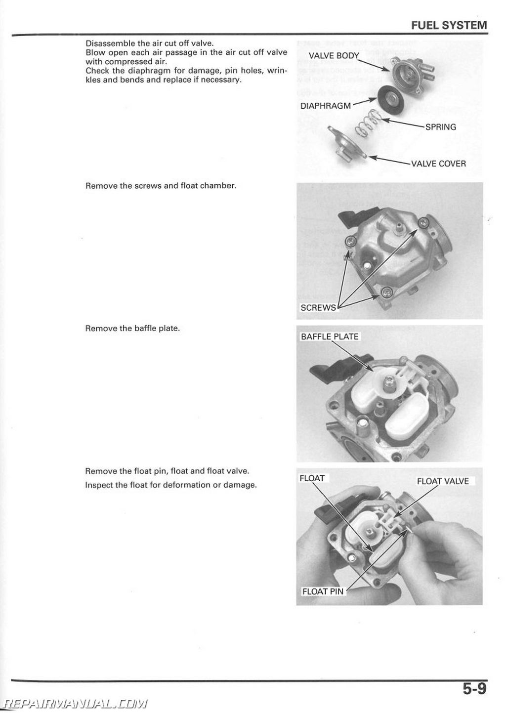 E3689 2003 Honda Trx250tm Service Manual Wiring Diagram Library