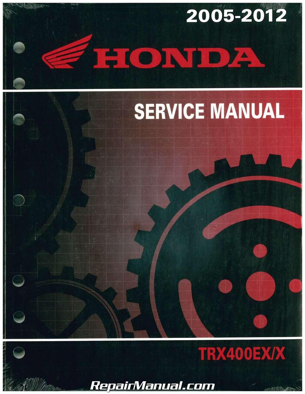 2005 2014 honda trx400ex x atv service manual rh repairmanual com Custom 2005 Honda TRX400EX 2005 honda 400ex service manual free download