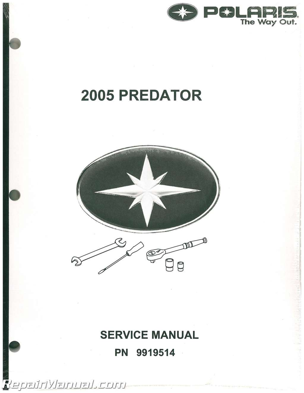 2005 polaris predator 500 service manual rh repairmanual com 2005 polaris sportsman 500 ho service manual pdf 2005 polaris sportsman 500 ho owner's manual