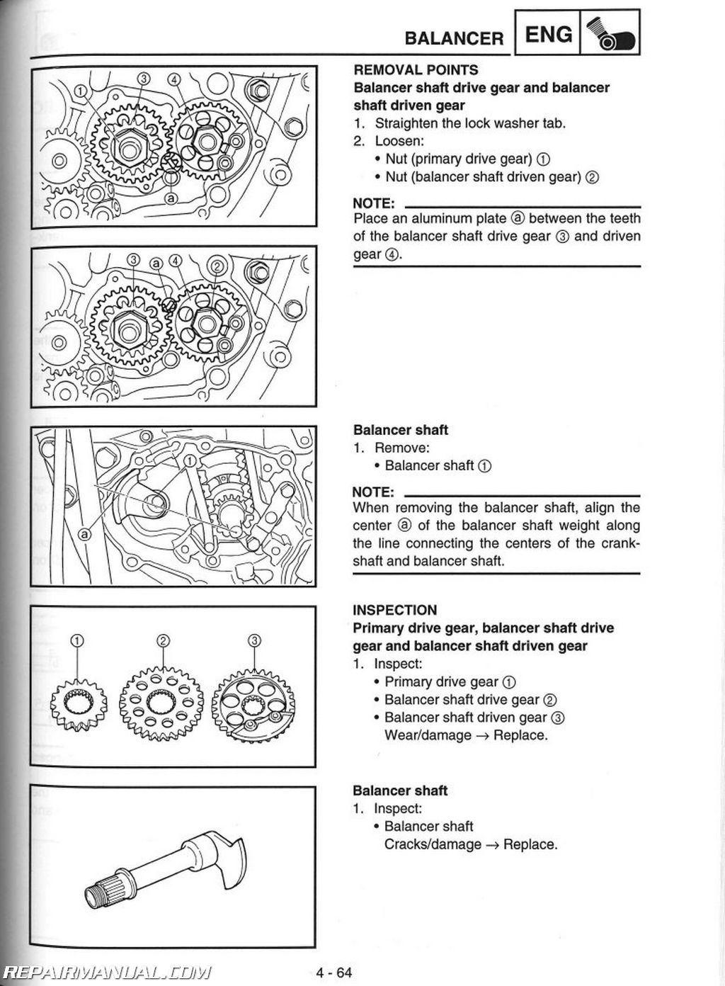 Yamaha Yz Parts Manual