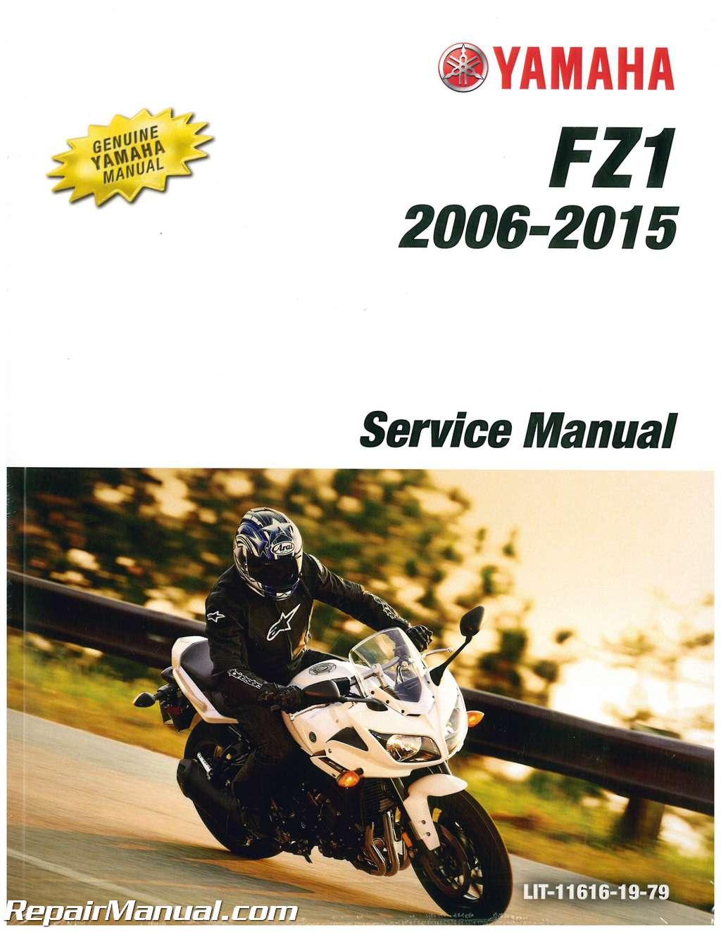 2006 yamaha fz1 motorcycle service manual
