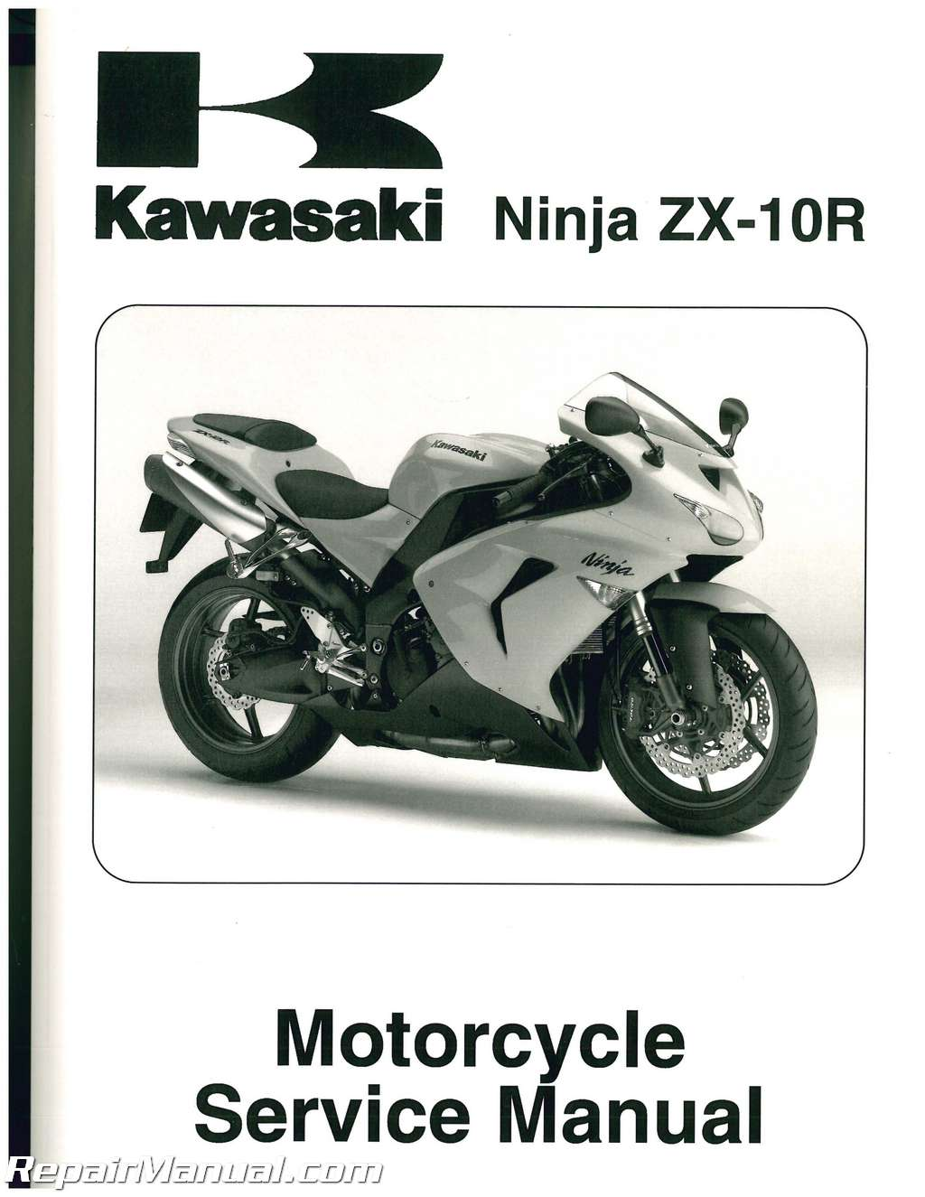 2006 2007 kawasaki ninja zx 10r service manual rh repairmanual com The Illustrated Ninja Handbook Ninja Master
