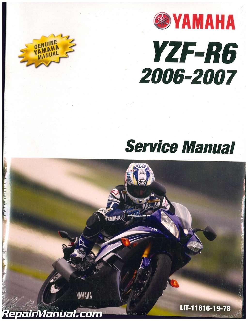 2006 yamaha yzfr6 yzfr6s motorcycle service manual