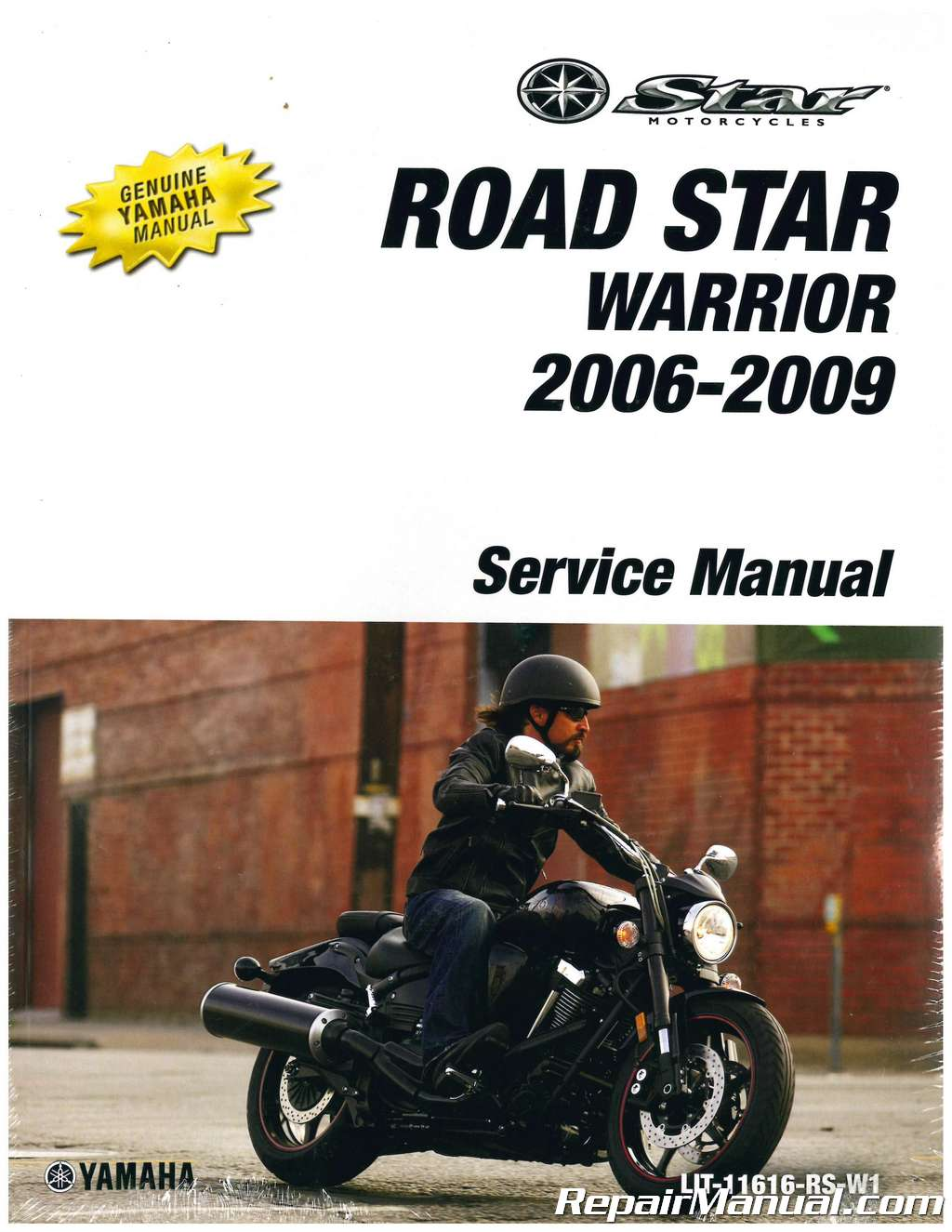 2006 2009 yamaha xv17 road star warrior motorcycle service manual rh repairmanual com yamaha road star shop manual yamaha road star owners manual