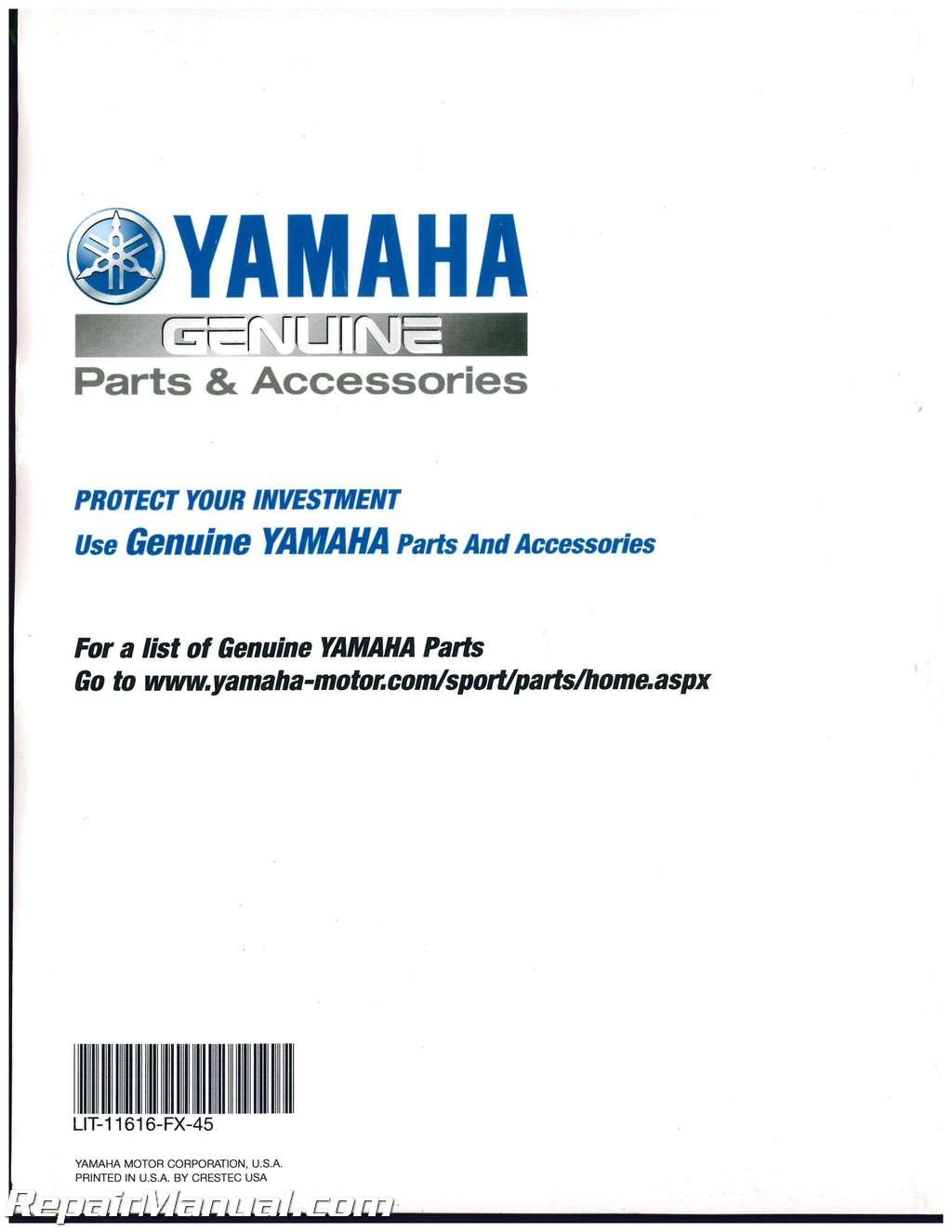 2006 2010 yamaha yfm450 wolverine 450 atv service manual rh repairmanual com yamaha wolverine 450 service manual pdf 2009 yamaha wolverine 450 service manual