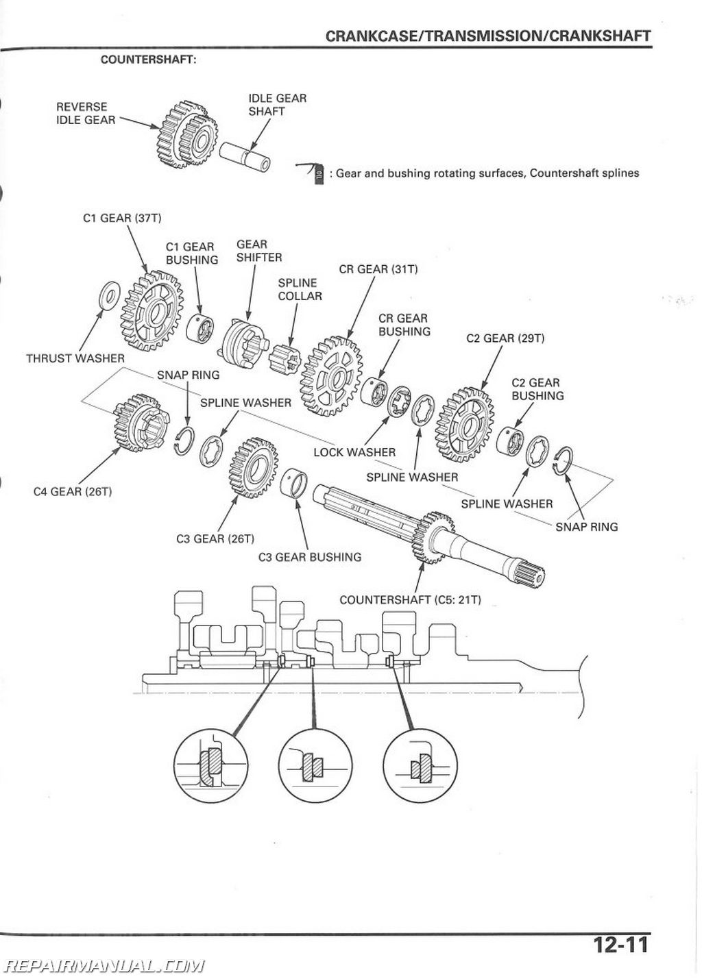 Trx250ex Wiring Diagram Libraries Wire Honda Rancher Trx350fe 2006 2014 X Sportrax Service Manualtrx250ex 15