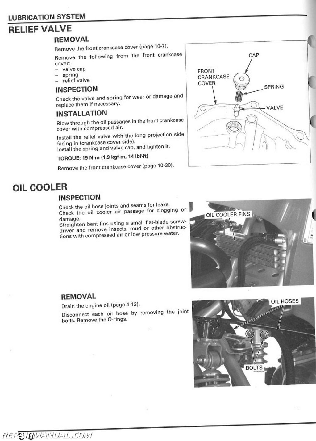 2006-2014 Honda TRX250EX X Sportrax Service Manual ...
