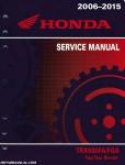 2006-2015 Honda Rincon TRX680 Service Manual