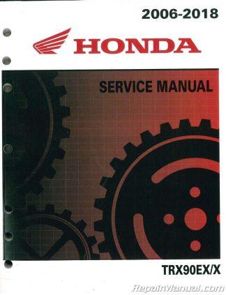 you're viewing: 2006-2018 honda trx90ex trx90x atv service manual $55 84  $45 95