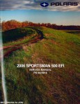 2006 Polaris Sportsman 500 EFI ATV Service Repair Manual