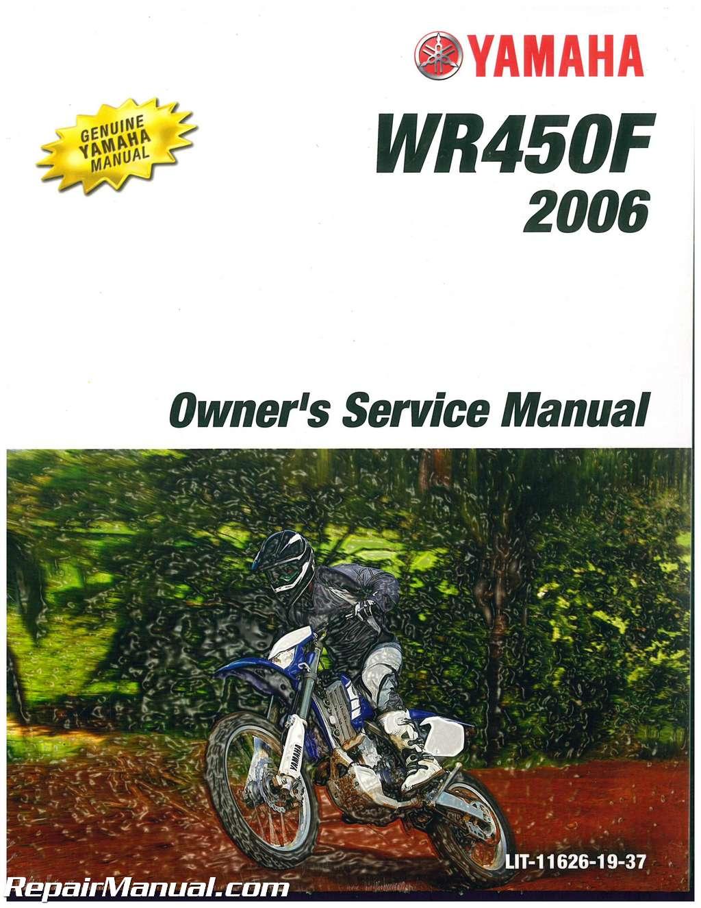 ratings u0026 reviews Array - 2006 yamaha wr450f motorcycle owners service  manual rh repairmanual ...