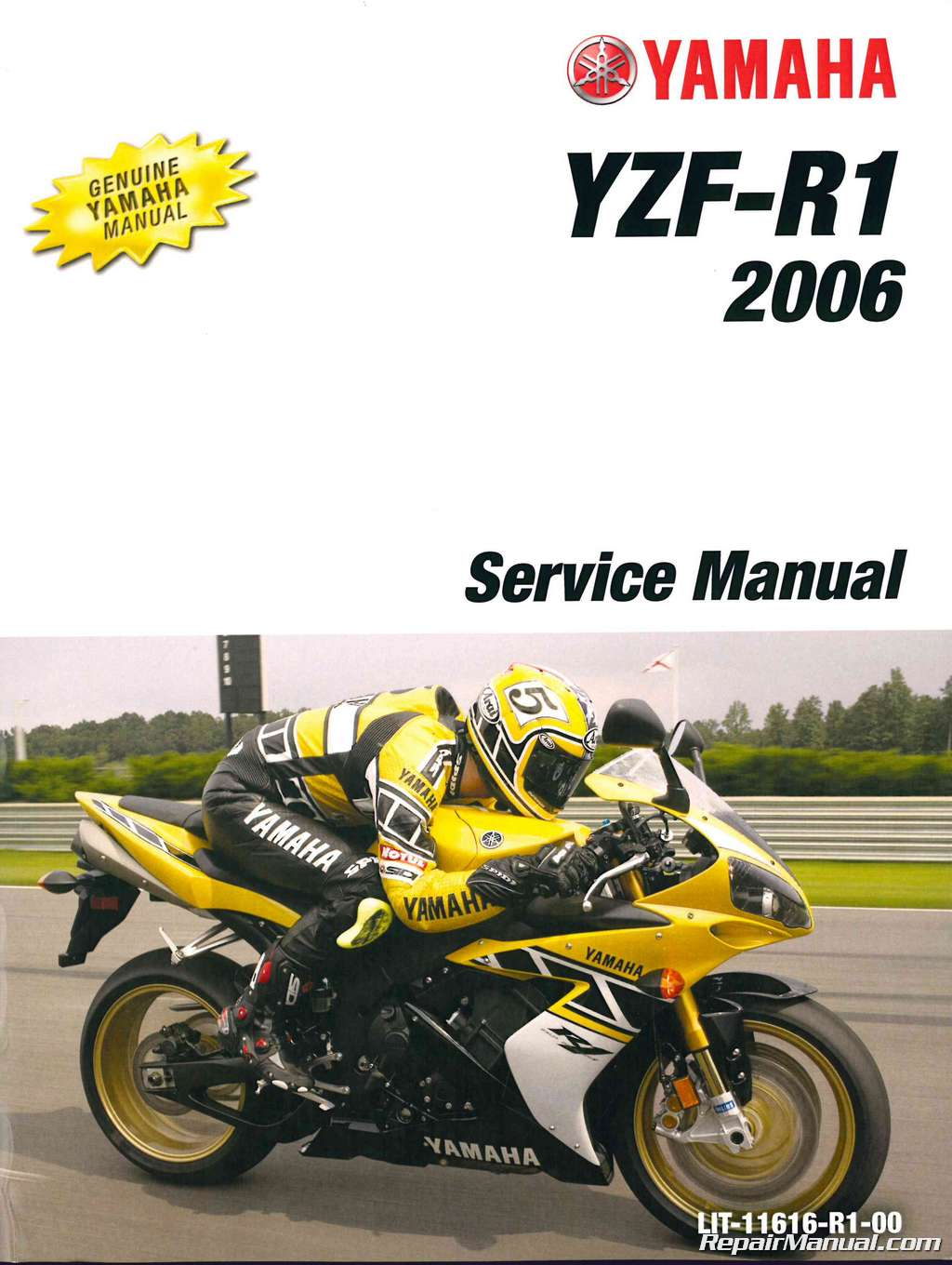 2006 yamaha yzf r1 motorcycle service manual for Yamaha ysp 5600 manual