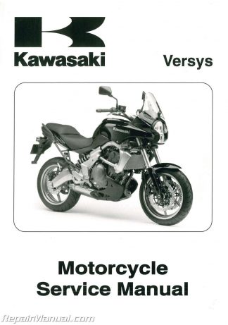 Kawasaki Versys Owners Manual