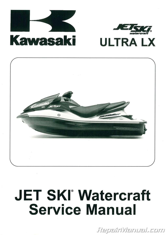 2007-2011-Kawasaki-JT1500G-Ultra-LX-Jet-Ski- ...