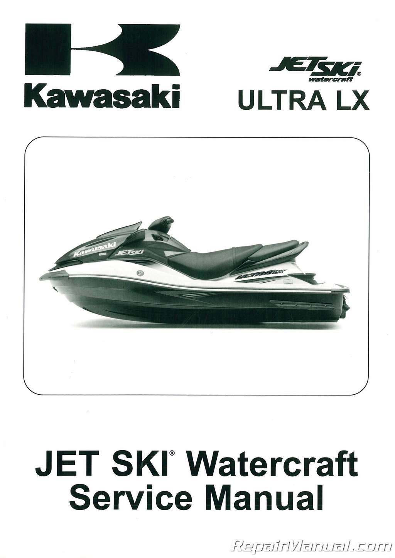 2007 2011 kawasaki jt1500g ultra lx jet ski factory service manual rh repairmanual com Stand Up Watercraft Sea-Doo Jet Ski Watercraft
