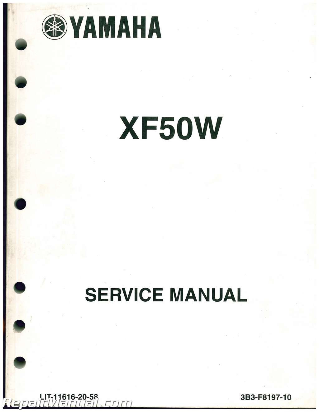 used 2007 2011 yamaha xf50 c3 scooter service manual ebay rh ebay com yamaha c3 scooter owners manual Yamaha Service Dealers