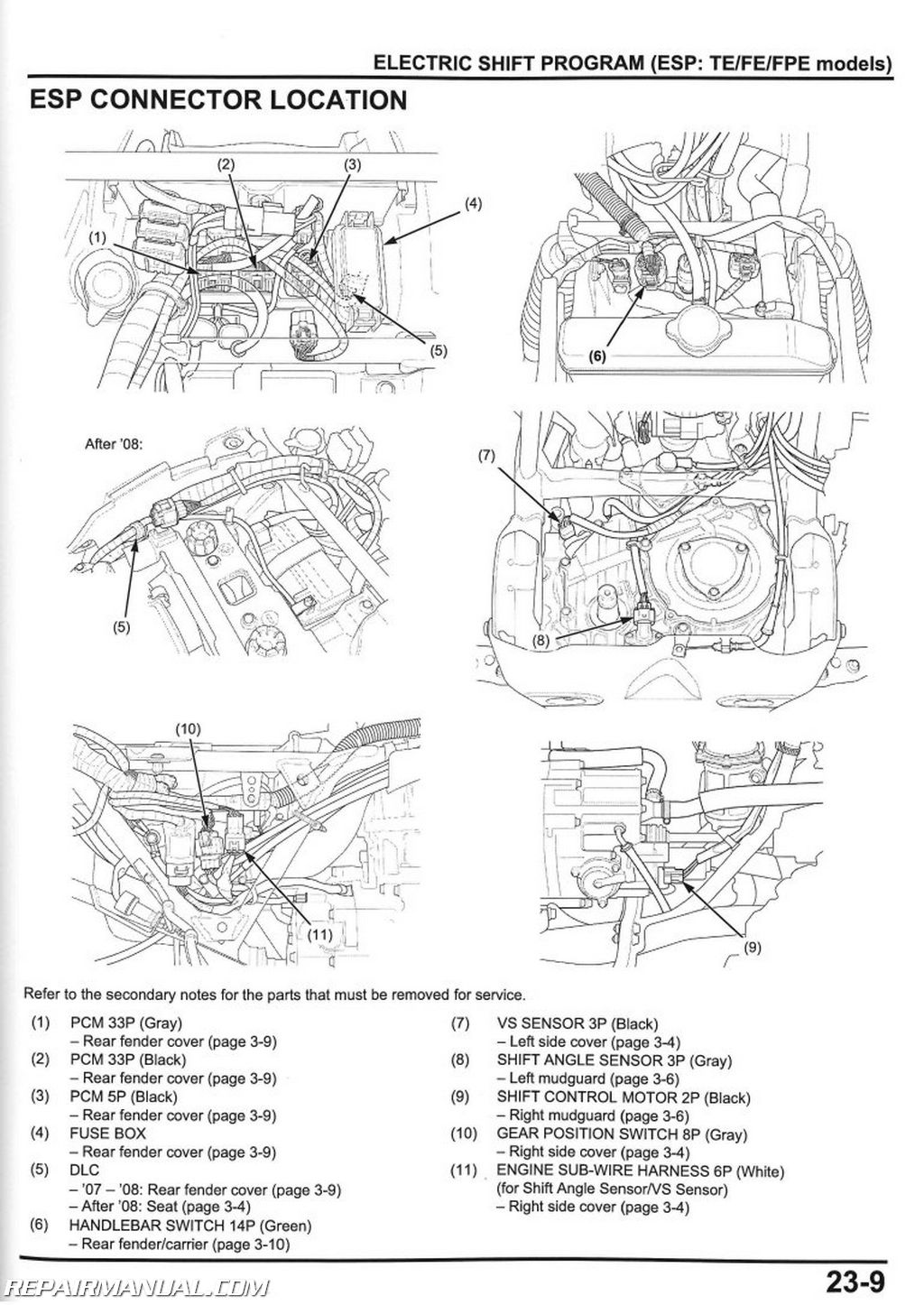 2007 2013 Honda TRX420FE FM TE TM FPE FPM Rancher Service Manual page 1 wiring diagram for a trx420fe readingrat net case 220 wiring diagram at mifinder.co