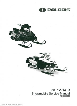 2007 2013 polaris iq snowmobile service manual 2005 Polaris Ranger Wiring Diagram