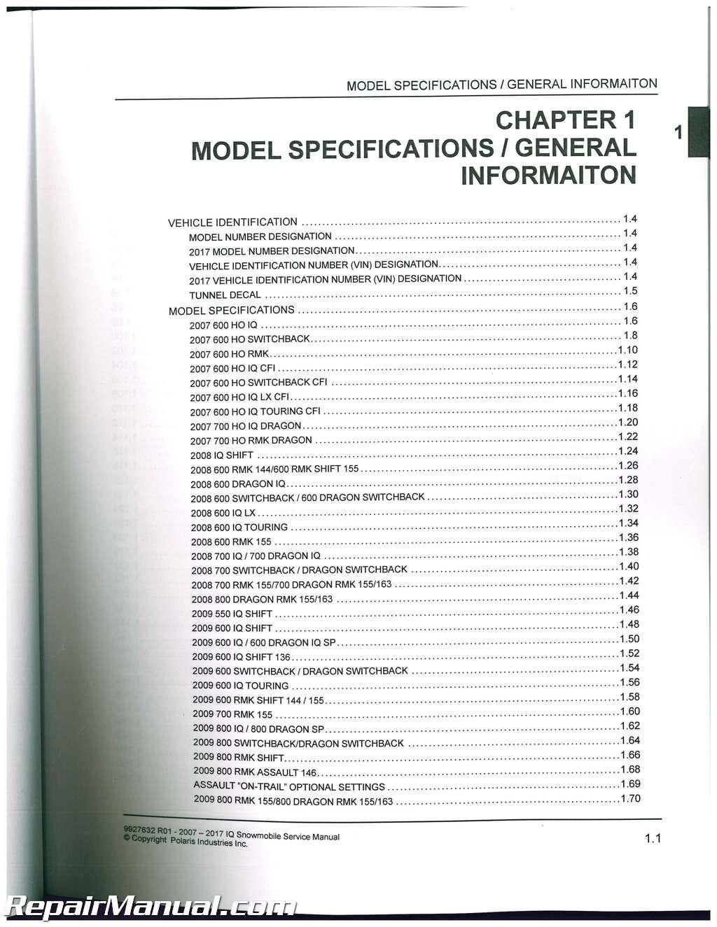 Mnl-5568] 2000 polaris 600 rmk snowmobile service manual free.