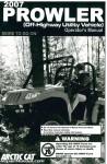 2007 Arctic Cat Prowler Owners Manual_001