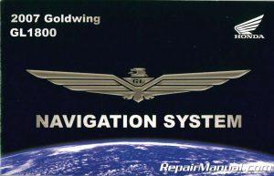 2007 Honda GL1800 Goldwing Motorcycle Navigation System Manual_001