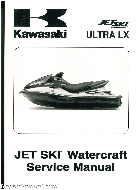 2007 kawasaki jt1500c jet ski ultra lx service manual rh repairmanual com jet  ski mallorca jet ski manhattan