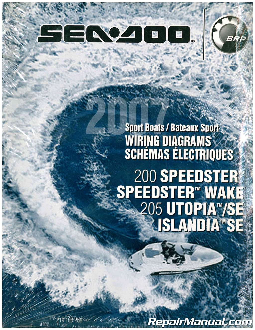 2007 Sea Doo Boat Wiring Diagram 200 Speedster Wake 205 Utopia Se Islandia
