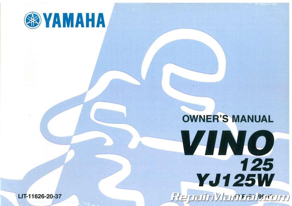 Download 2007 yamaha vino owners manual