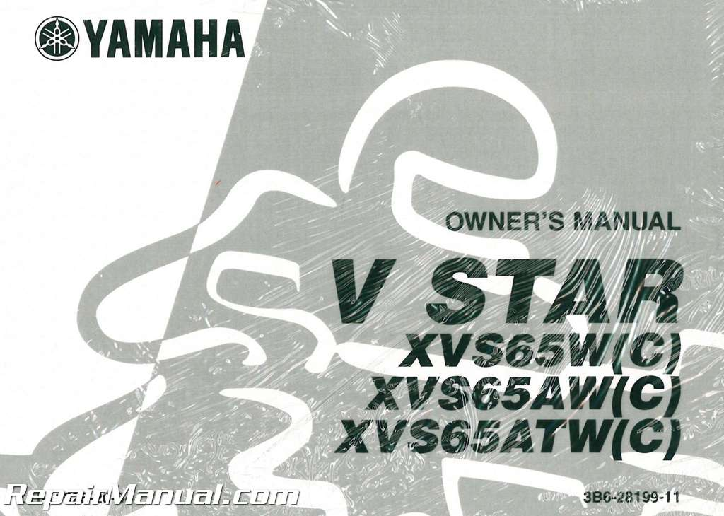 2007 yamaha xvs65w xvs65atw xvs65atwc v star 650 silverado rh repairmanual com yamaha v star 650 service manual v star 650 service manual