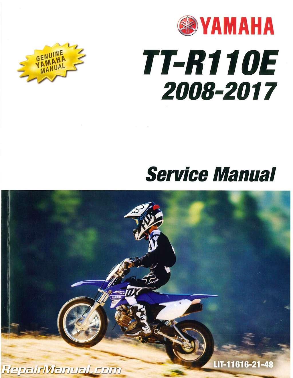 2008 2009 and 2011 2017 yamaha ttr110e motorcycle service. Black Bedroom Furniture Sets. Home Design Ideas
