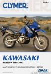 2008-2012 Kawasaki KLR650 KL650 Motorcycle Repair Manual by Clymer