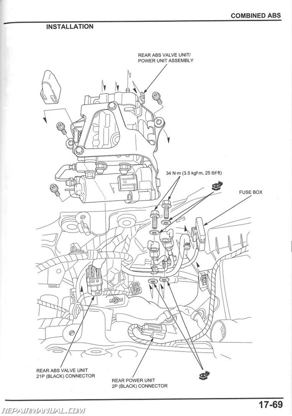 2008 2016 Honda Cbr1000rr Motorcycle Service Manual on nissan altima wiring diagram