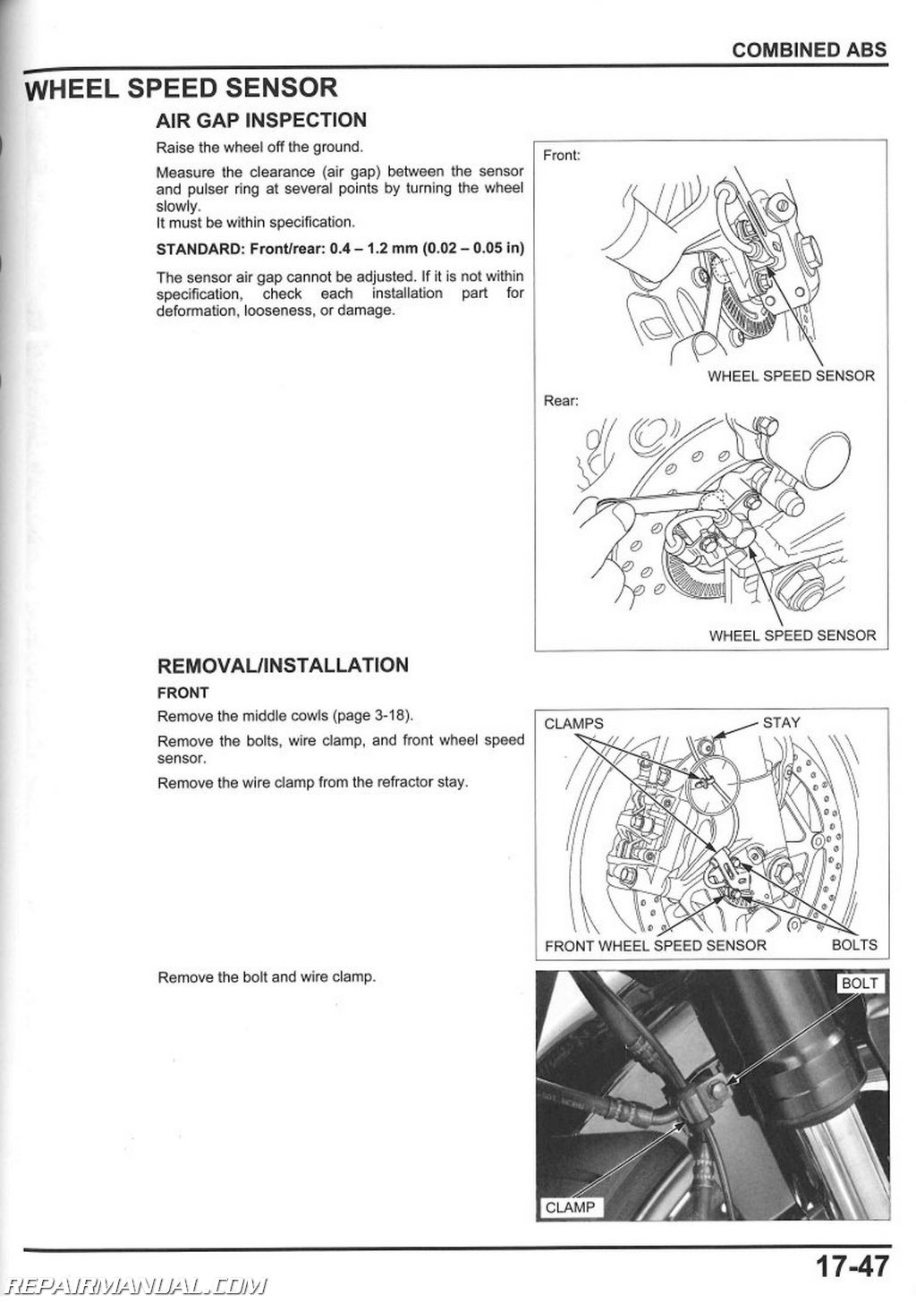 used 2008 2015 honda cbr1000rr motorcycle service manual repair 2008 2014 honda cbr1000rr service manual page 2