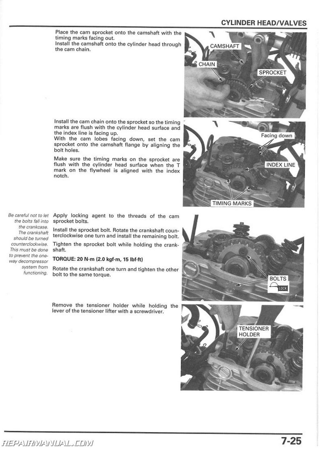 2008 2017 honda xr650l dual sport motorcycle service manual 2008 2014 honda xr650l service manual page 2