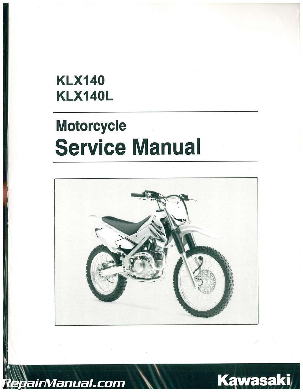 kawasaki klx 140 service manual