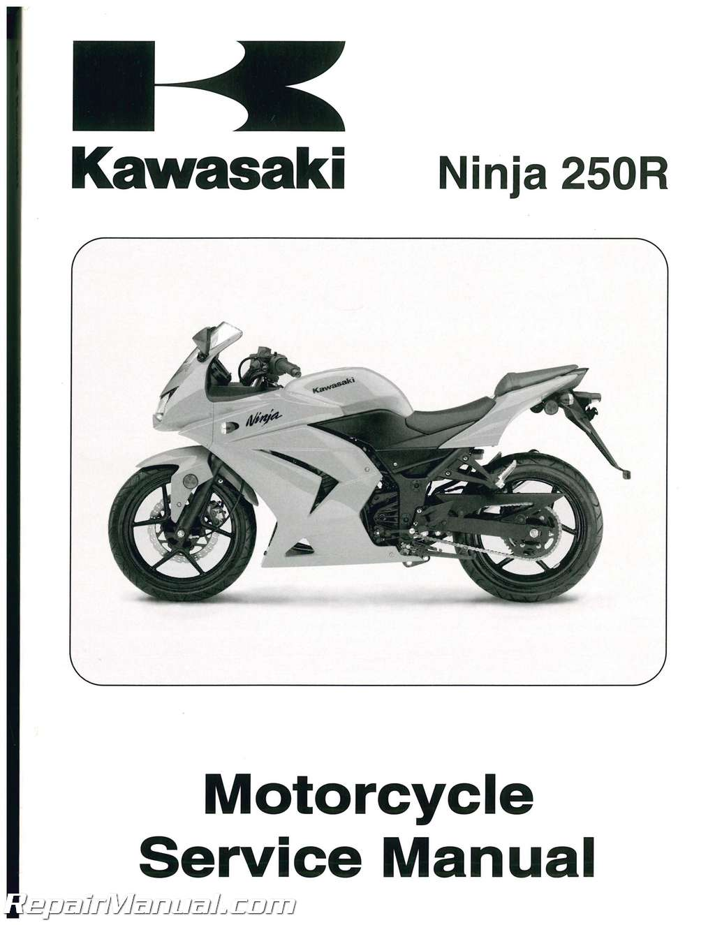 Haynes repair manual kawasaki en500/vulcan 500 (90-07) ex250.