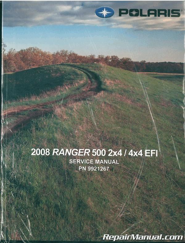 2008 Polaris Ranger 500 2x4 4x4 Efi Service Manual