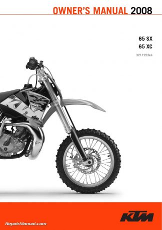 Ktm  Xc Owners Manual