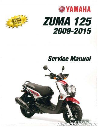 2009 2016 yamaha yw125 zuma 125 scooter service manual rh repairmanual com 2009 yamaha zuma 125 wiring diagram