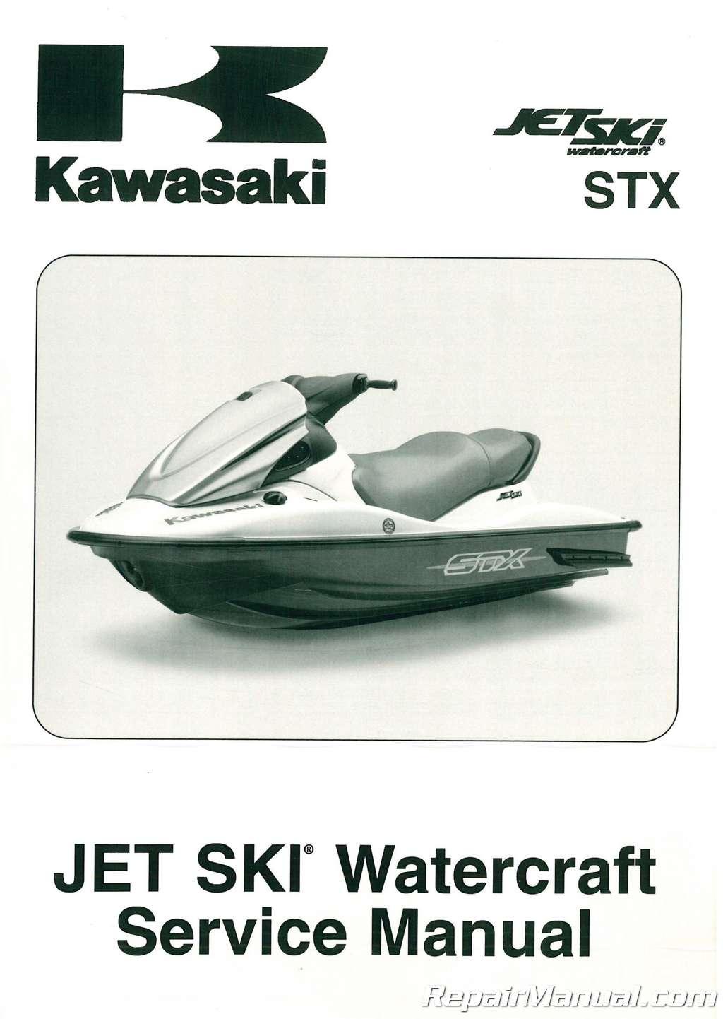 2009 2010 kawasaki jt1500d stx jet ski factory service manual rh repairmanual com Watercraft Jet Ski Rental Bremer Sea-Doo Jet Ski Watercraft