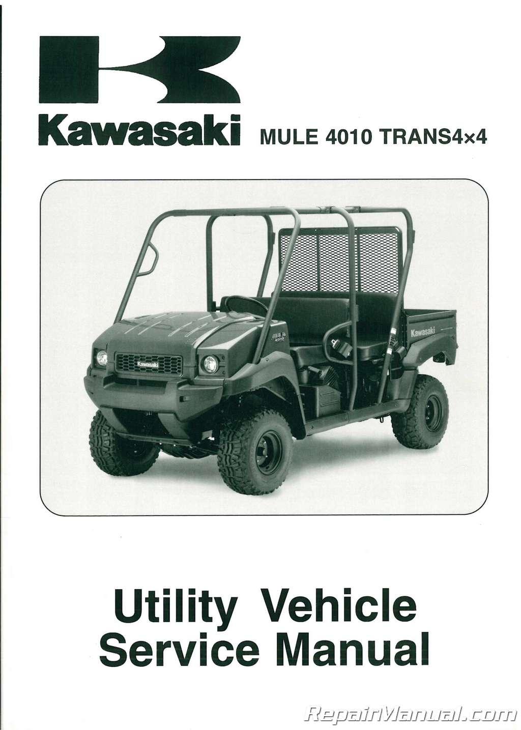 2009-2010-Kawasaki-KAF620R-S-Mule-4010-Trans4x4- ...